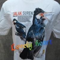 harga Kaos kicau mania Jalak Suren Putih istimewa Tokopedia.com