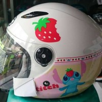 Helm BMC Milan Stitch Putih