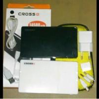 Powerbank Cross 14500Mah/Powerbank Evercoss 14500Mah REAL Kapasitas