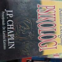 harga Kamus Psikologi JP chaplin Tokopedia.com