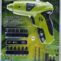 Mesin Bor / Obeng tanpa Kabel (Rechargeable) / Cordless Screwdriver