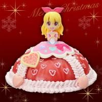 Aikatsu Cake Topper Figure Ichigo dekorasi cake ulang tahun
