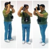 Figure Fotografer American Diorama