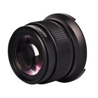 ZOMEI Super Wide Angle Fisheye Lens with Macro Lens 0.42x 52mm
