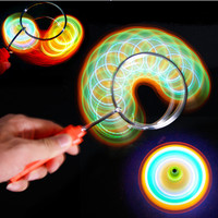 crazy flashing gyro wheel yoyo gasing roda magnet gangsing super magic