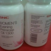GNC WOMEN`S EVENING PRIMROSE OIL 1300 90 KAPSUL