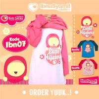 Kaos Anak Muslim Ibnu Syamil IBN07B  (Putri Junior)