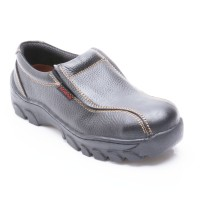 Octopus Sepatu Safety Industrial/ safety shoes  OX 302 - Hitam