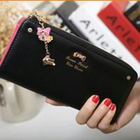 Jual Zipper Wallet dompet import wanita cewek korea fashion murah lucu Murah