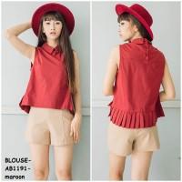 harga Baju Blus Blouse Dress Pesta Tank Top Atasan Kaos Camisol Korea Import Tokopedia.com