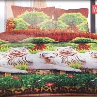 sprei BONITA white tiger/seprei bonita/seprai bedcover/bonita