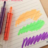 Stabilo Highlighter bentuk suntikan gambar lucu unik murah - KSY020