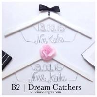 B2 Dream Catchers  - Hanger Name Wedding Favor Personalized