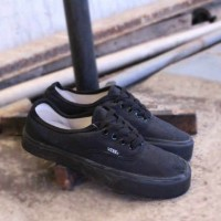 sepatu vans authentic full black ifc