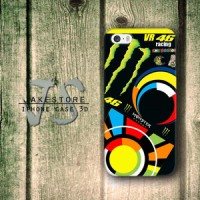 Valentino Rossi VR46 iPhone Case ,Casing 4 4s 5 5s 5c Casing HP