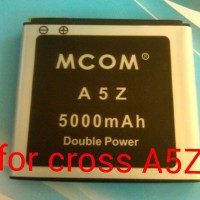 baterai cross/ evercoss A5Z double power merk mcom