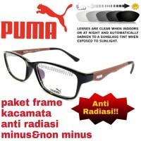 Harga Terbaru Paket Frame Kacamata Puma Dgn Lensa Anti Radiasi Minus non  Minus Di Jakarta - Cluboutfithjnm d90c83fc9c