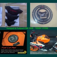 harga Tankpad - Tank Pad Pelindung Tangki  & Fuel Cap Lid Pad Honda CBR 150R Tokopedia.com