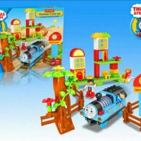 Thomas & friend Train Station Set seri 8902 size DUPLO building block