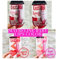 MAYBELLINE BABY LIPS COLORS LIP BALM