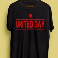 KAOS UNITED DAY HITAM #2 ! MANCHESTER UNITED MUFC MANUTD MU MAN UTD