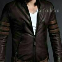 Jaket Kulit Xman/Jaket Wolverine/jaket super hero