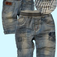 ~Cutevina~ Fashion Boy Jeans / Celana Jeans Anak - GZ3070