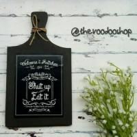 Talenan Hias untuk Dapur / Kitchen Stuff / Print Art / Shabby Chic
