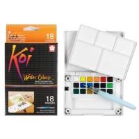 Sakura KOI Water Colors Pocket Fields Sketch 18 Color