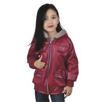 Jaket Anak Perempuan Catenzo Junior CDI 001 Maron - CJR Cewek Lotto