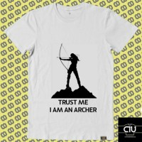 harga Kaos Trust Me I Am Archer Buat Sist Yang Doyan Panahan Tokopedia.com