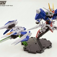 Bandai NXEDGE STYLE [MS UNIT] 00 Gundam & 0 Raiser