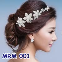 Jual Tiara Rambut Pesta Modern- Aksesoris Pengantin Wedding Wanita- MRM 001 Murah