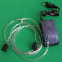 aerator hidroponik +1 selang uk 1m +2 selang uk 0.5m +2 buah air stone