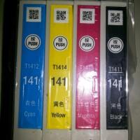 Tinta Ori Epson T141 series bawaan printer ME32 ME340 ME620