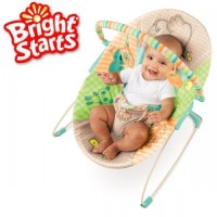 Bright Starts Patchwork Zoo Bouncer