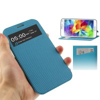 "FlipShell ""UFO"" Gal S4 Active(i9295) S View Cover Case dalam SoftShell"