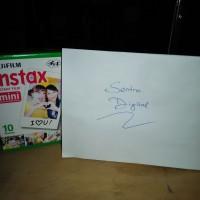 harga Fujifilm Instax Mini Film 2x10 Sheets/Double Pack White -Kertas Instax Tokopedia.com