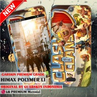 Garskin/Skin Himax Polymer Li Original - Clash of Clans