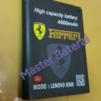 Baterai Battery Lenovo Bl169 / S560 Double Power