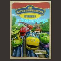 Souvenir Activity Book Tema Chuggington