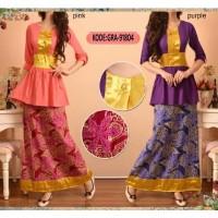 harga Maxi Dress Batik Velvet Mix / Long Dress Wanita / Busana Muslimah Tokopedia.com