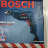 Mesin Bor Bosch GBM 350 RE Professional 10mm Kayu Besi Variable Speed