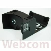 "Black Google Cardboard 3,5 - 5"" Virtual Reality Smartphone Android/IOS"