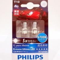 Philips LED T10 6700K X-Treme Ultinon / Lampu Senja Xtreme Ultinon