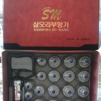 Cupping Theraphy Isi 19 Premium Samora Merah - Alat Bekam