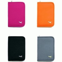 Multi-purpose Zippered Traveling Passport Bag Card Holder & Wallet