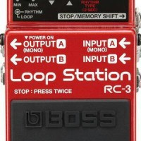 Boss RC3 - Loop Station Pedal Effect