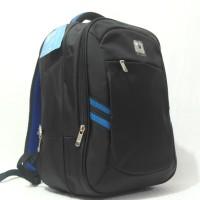 harga Tas Ransel Laptop 3011 - 06 Travel Time Black Tokopedia.com