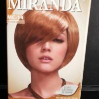 Miranda Cat Rambut MC-14 Glden Brown